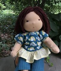 Waldorf Inspired Noble Baby Dolls (Noble Doll Studio) Tags: waldorfdoll customwaldorfbabydoll waldorf baby doll