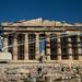 Parthenon em restauro