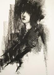 P1016528 (Gasheh) Tags: art painting drawing sketch portrait girl pastel gasheh 2015