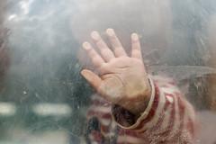 Here I Am (D. Cassarino Photography) Tags: hand kid playground adaciganlija beograd serbia playful 50mm canon400d texture glass