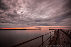 Blyth Pier (sidrog28) Tags: pier blyth uk newcastle sea wood nikon photography photo sand long exposure