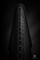 The Flatiron building (S.D.G Photographie) Tags: ny nyc newyork newyorkcity city building black white longexposure long exposure town dark series sombre bw