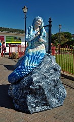 The Black Rock Mermaids - No.1 The Ebb & Flow Mermaid. (Kay Bea Chisholm) Tags: rivermersey statue 2017 kingparade wallasey newbrighton mermaidtrail blackrockmermaids theebbflowmermaid