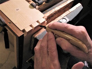 """Dovetails by Hand or Jig"" June, 2017 Newsletter"