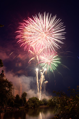 Volksfest Aschaffenburg Feuerwek 2017