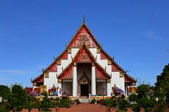 Wihan Phra Mongkhon Bophit (_JLC_) Tags: tailandia thailand asia sudesteasiático oriente architecture arquitectura templo wat temple edificio buddhism budismo buda buddha perspectiva perspective watphramongkhonbophit canon canon6d eos 6d 2470f4 flickrunitedaward