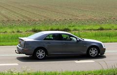 2007 Cadillac Seville Touring Sedan (Dirk A.) Tags: sidecode6 onk 95tzdf 2007 cadillac seville touring sedan