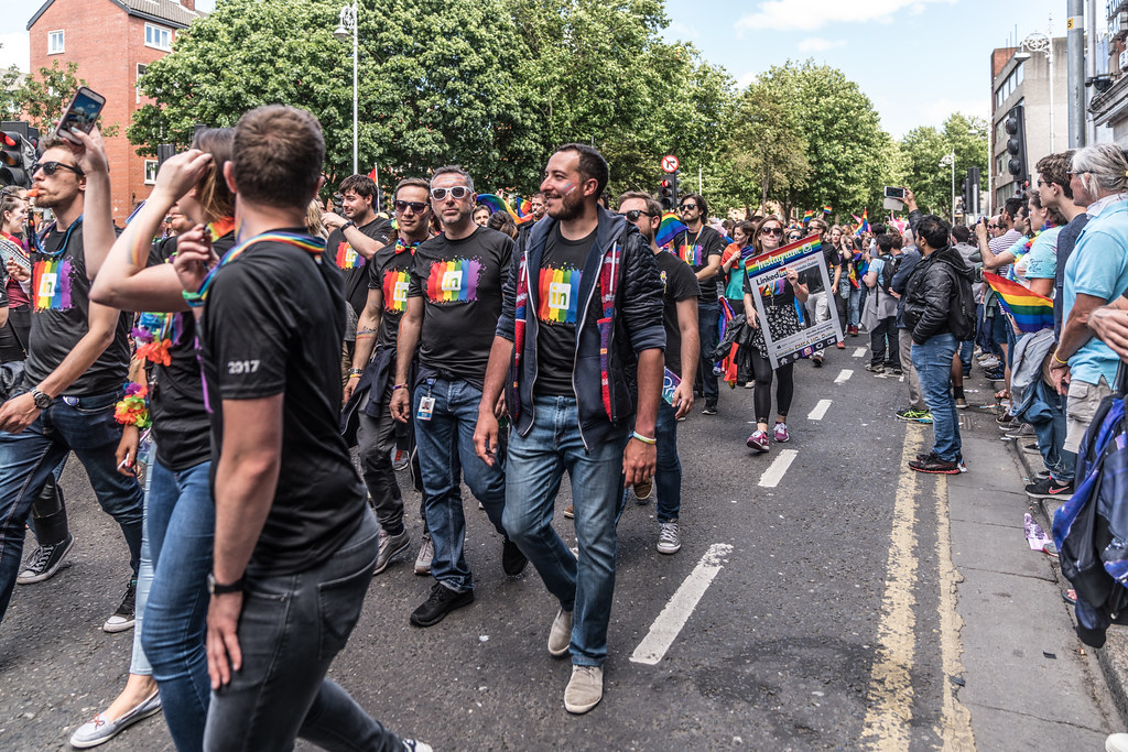 LGBTQ+ PRIDE PARADE 2017 [ON THE WAY FROM STEPHENS GREEN TO SMITHFIELD]-130079