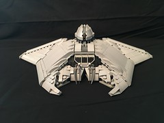 LEGO ID4 Independence Day Alien Fighter (aaron.fiskum) Tags: legofreaks lego id4 indepenedence day space scifi science fiction alien fighter legospace alienfighter legoid4 legoindependenceday bricks