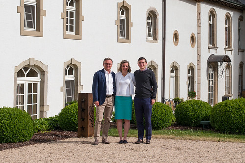At Chateau d'Urspelt, Luxembourg