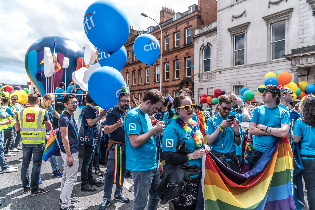 LGBTQ+ PRIDE PARADE 2017 [STEPHENS GREEN BEFORE THE ACTUAL PARADE]-129817