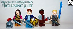 Percy Jackson And The Olympians: The Lightning Thief (TheRandom_Panda) Tags: lego figs fig figures figure minifigs minifig minifigures minifigure purist purists character characters film films movie movies television tv percy jackson and the olympians lightning thief book books