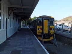 153372 Liskeard (3) (Marky7890) Tags: gwr 153372 class153 supersprinter liskeard 2l34 railway cornwall train looevalleyline