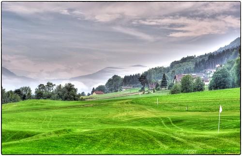 Austria - Golfplatz bei Nußdorf