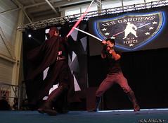 TGSSpringbreak_LesGardiensDeLaForce_015 (Ragnarok31) Tags: tgs springbreak toulouse game show gardiens force jedi star wars obscur art martial combat