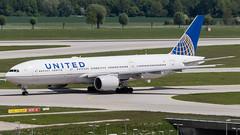 MUC - United Boeing 777-200 N787UA