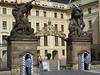 prague (23) (BOSTO62) Tags: prague chateau entrée garde présidentiel