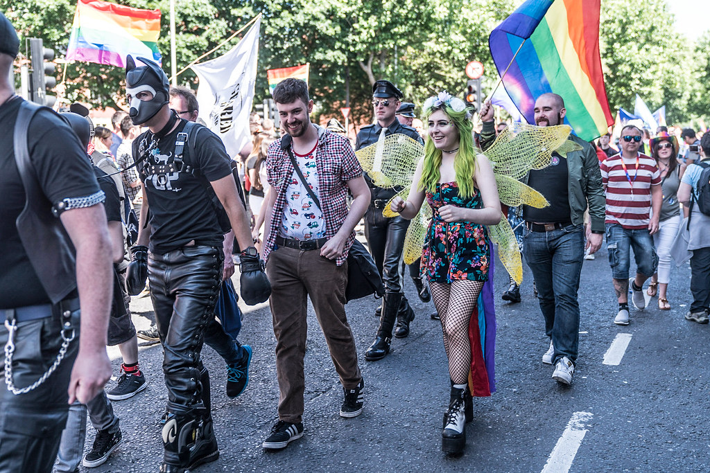 LGBTQ+ PRIDE PARADE 2017 [ON THE WAY FROM STEPHENS GREEN TO SMITHFIELD]-130038