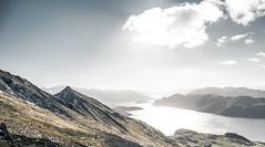 Lake Wanaka - New Zealand (Max Pa.) Tags: new zealand newzealand landscape canon 5d 2470mm neuseeland lake wanaka roys peak track hike walking see water mountains island mountain berg berge snow winter view nature natur light sun sonne