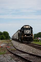 Norfolk Southern #2557 (Fred Watkins (kg4vln)) Tags: kg4vln nikon d5500 railroad railfans elbertadepot warnerrobins georgia ca