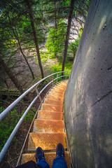 Long Way Down (A Great Capture) Tags: shoes feet stairs bend round down efs1018mm 10mm urban agreatcapture agc wwwagreatcapturecom adjm ash2276 ashleylduffus ald mobilejay jamesmitchell toronto on ontario canada canadian photographer northamerica torontoexplore summer summertime été 2017 eos digital dslr lens canon 70d urbannature scenery scenic outdoor outdoors vibrant colorful cheerful vivid bright woods trees tree leaves leaf foliage streetphotography streetscape street calle urbex rust decey decay railing