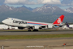Cargolux / Boeing 747-8R7(F) / LX-VCL departure from Ted Stevens Anchorage International Airport, Alaska. (Angel Moreno Photography) Tags: cargolux boeing7478r7f lxvcl departure tedstevensanchorageinternationalairport alaska boeing boeing747 spotter planespotter spotting airplane aircraft plane airport anchorage