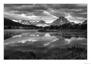 Cloudy Sunrise at Oxbow Bend