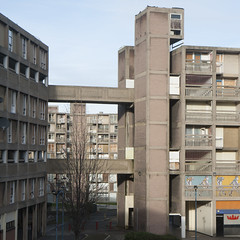 Park Hill, Sheffield, Jack Lynn and Ivor Smith, 1957-61 (barnabas_calder) Tags: parkhill sheffield architecture concrete brutalism brutalistarchitecture housing socialhousing