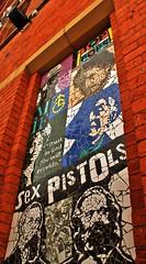 Afflecks Palace - Manchester -3 - April 11th, 2017 (c.skoyles) Tags: culture art mosaic shopping alternative music retail manchester affleckspalace sexpistols bobdylan topofthepops granada