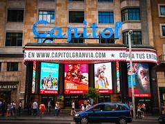 Cine Capitol - Madrid (Fran.Vázquez) Tags: madrid granvía spain nikon d300 cine capitol