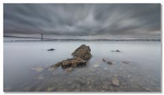 Gray Days (João Cruz Santos) Tags: waterscape seascape longexposure tagusriver lisbon lisboa portugal fotodiox wonderpana nd1000 10stops sigma1224
