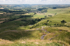 Mam Tor view over landslip, Derbyshire (Neil M Cross) Tags: