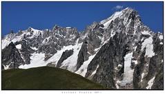 Le Grandes Jorasses (Alfoja) Tags: ferret jorasses montebianco bianco montblanc courmayeur aosta daosta valledaosta alfoja alpi alps lucianofoglia foglia italia italy italie