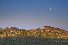(Ioan Todor. Photography's) Tags: morning moon night rocky stones cliff tent camping blue