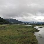 panorama, high water of Hino River thumbnail