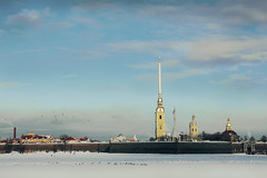 Зима_Петропавловская кр (KAS_85_) Tags: landscape saintpetersburg sigma1750mm clouds canon city russia ice architecture fortress