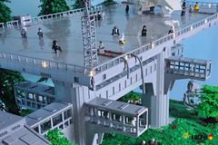 076 - Platform life (dmaclego) Tags: lego star wars forest sanctuary moon endor project return jedi moc