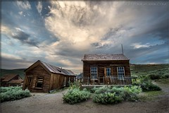 Habitats of the forgotten (TomGrubbe) Tags: bodie ghosttown abandoned miningtown easternsierras old house clouds california