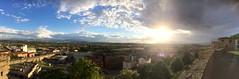 panorama omgeving viana, spanje (112tje) Tags: zon wolken donkere omgeving panorama spanje viana spain rest pelgrimage pelgrim pélerin peregrino pilgrimage rust herstel