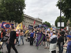 Anti Austerity March, July 2017 (Ian Press Photography) Tags: anti austerity march july 2017 downing street protest protests protester protesters demo demonstration london tory conservative