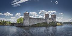 Olavinlinna (>>Marko<<) Tags: savonlinna castle linna water vesi sky landscape canon suomi finland