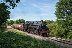 London, via East Grinstead (Nimbus20) Tags: east grinstead london steam sussex standard black 5 five bluebell summer sunshine tracks rails train