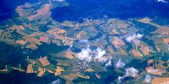 Near Bastogne (oobwoodman) Tags: aerial aerien luftaufnahme luftphoto luftbild amsgva belgique belgium belgië belgien bastogne windmills windpower aeolian windmühle turbines