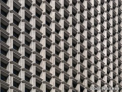 Squares (Joel Raskin) Tags: architecture archshot squares geometric patterns facade lines geometricshapes nyc thruthewindow thrutintedglass fromthecar windows manhattan 3rdavenue newyorkcity lumixgx85 concrete
