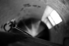 Vertigo (Andrew Malbon) Tags: vertigo spiral steps rope window bokeh leica leicam9 m9 35mmf14 summilux rangefinder church anglican cathedral stthomas portsmouth oldportsmouth access urbex secret hidden dizzy winder brick architecture architect traditional