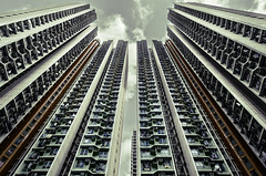 Typical Scene of Hong Kong (Jimmy J.H.) Tags: architecture architecturephotography earthasia asia art photography travelphotography travel hongkong china skyline city cityscape urban urbanexploration cloudy energy emotions composition lines pattern uniform buildings building estate apartment cinematic ngc