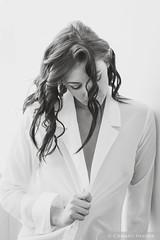 Mac (Pdooma) Tags: mac mackenzie brunette bw monochrome glamour fashion emotive