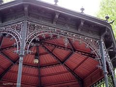 Zrinjevac pavillion roof detail