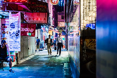 The back street of Hong kong (yushin-t) Tags: oth