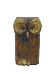 Schaffenacker Owl (altfelix11) Tags: pottery artpottery ceramics artceramics germanpottery germanceramics figure figurine owl schaffenacker collectible collectable